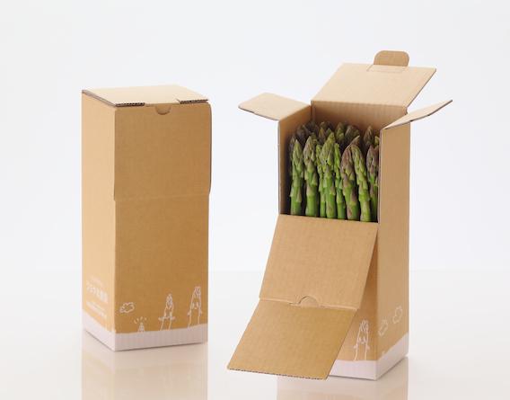 アスパラガスの産直箱